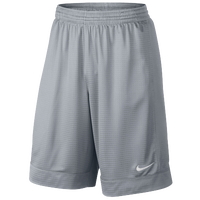 Nike Fastbreak Shorts - Men's - Grey / Grey