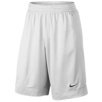 Nike Fastbreak Shorts - Men's - All White / White