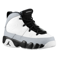 Jordan Retro 9 - Boys' Toddler - White / Black