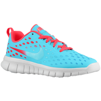 Nike Free Express - Girls' Preschool - Light Blue / Red