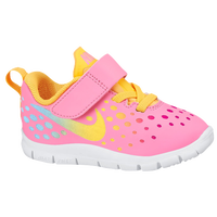 Nike Free Express - Girls' Toddler - Pink / Orange