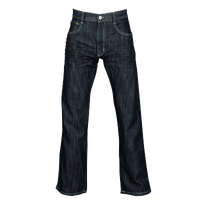 Southpole 4180 Shiny Streaky Denim Jeans - Men's - Navy / Navy