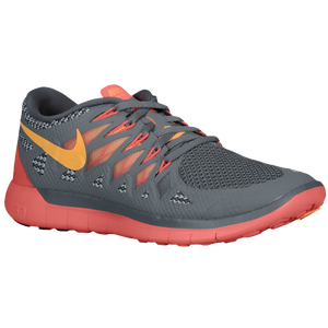 Nike Free 5.0 2014 - Women's - Cool Grey/Atomic Mango/Laser Crimson/Wolf Grey