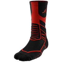 Jordan Jumpman Flight Crew Socks - Adult - Black / Red