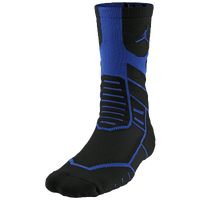 Jordan Jumpman Flight Crew Socks - Adult - Black / Blue