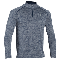Under Armour Lightweight Tech 1/4 Zip - Men's - Navy / Grey