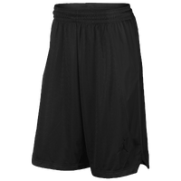 Jordan Flight Knit Shorts - Men's - All Black / Black