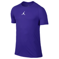 Jordan AJ All Season Fitted Short Sleeve Top - Men's - Purple / Purple