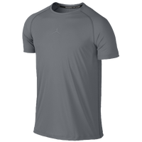 Jordan Stay Cool Fitted Short Sleeve Top - Men's - Grey / Grey