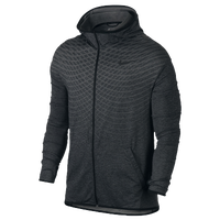 Nike Ulitmate Dry Full Zip Hoodie - Men's - Grey / Black