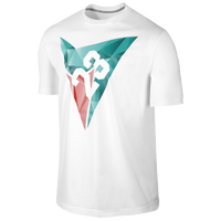 Jordan Retro 7 Of Diamonds T-Shirt - Men's - White / Aqua