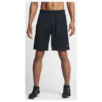"Nike Fly 9"" Shorts - Men's - All Black / Black"