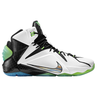 Nike LeBron 12 - Men's -  Lebron James - White / Black