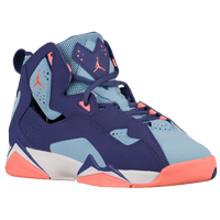 8e0a76e9502eea Jordan True Flight - Girls  Grade School - Purple   Light Blue