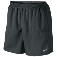 "Nike Dri-FIT 5"" Distance Shorts - Men's - Grey / Grey"