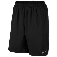 "Nike Dri-FIT 9"" Distance Shorts - Men's - All Black / Black"