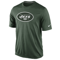 Nike NFL Dri-Fit Logo Legend T-Shirt - Men's - New York Jets - Dark Green / White