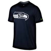 Nike NFL Dri-FIT Logo Legend T-Shirt - Men's - Seattle Seahawks - Navy / Grey