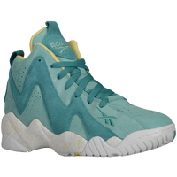 Reebok Kamikaze II Mid - Girls' Grade School - Light Green / Dark Green