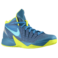 Nike Zoom I Get Buckets - Men's - Blue / Light Green