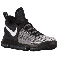 Nike KD 9 - Men's -  Kevin Durant - Black / White