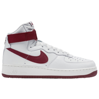 Nike Air Force 1 High - Men's - White / Maroon