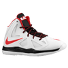 Nike Lebron X - Boys' Preschool - White / Black