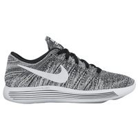 Nike LunarEpic Low Flyknit - Women's - Black / White