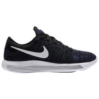 Nike LunarEpic Low Flyknit - Women\u0026#39;s - Black / White