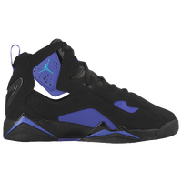 Jordan True Flight - Boys' Grade School - Black / Light Blue