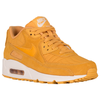 Nike Air Max 90 - Women's - Gold / Off-White