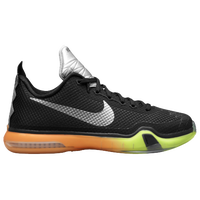 Nike Kobe X Elite - Boys' Grade School - Black / Silver