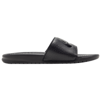 Nike Benassi JDI Slide - Men's - All Black / Black