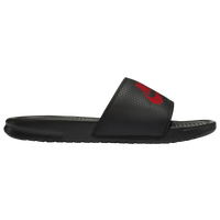 Nike Benassi JDI Slide - Men's - Black / Red