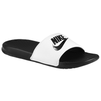 Nike Benassi JDI Slide - Men's - White / Black