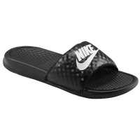 Nike Benassi JDI Slide - Women's - Black / White