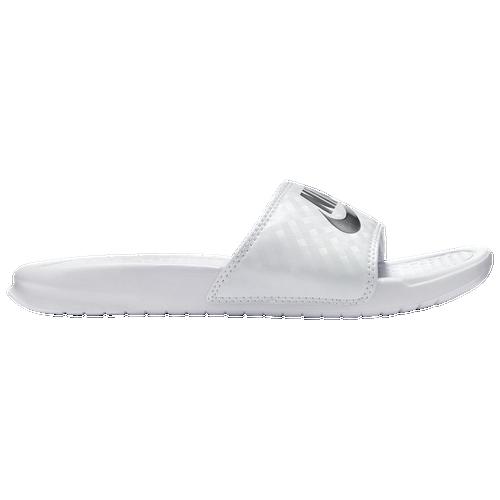 Fantastic Nike Benassi JDI Slide  Women39s  Casual  Shoes  WhiteMetallic