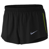 "Nike Dri-FIT 2"" Racing Shorts - Men's - Black / Light Green"