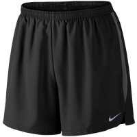 "Nike Dri-FIT 5"" Challenger Shorts - Men's - Black / Grey"