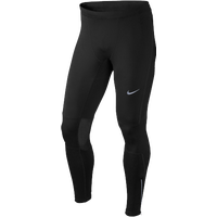 Nike Dri-FIT Tech Essential Tights - Men's - All Black / Black