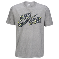 Nike JDI Reverb T-Shirt - Men's - Grey / Pink