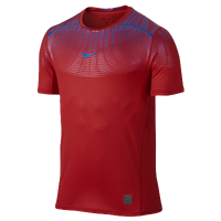 Nike Hypercool Max Metalized Shortsleeve - Men's - Red / Blue
