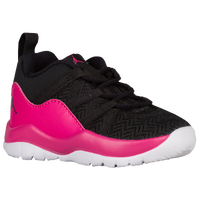 Jordan Deca Fly - Girls' Toddler - Black / Pink