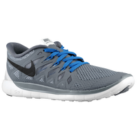 Nike Free 5.0 - Boys' Grade School - Grey / Black