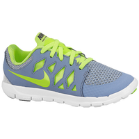 Nike Free 5.0 - Boys' Preschool - Grey / Light Green
