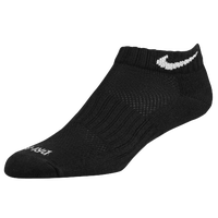 Nike 6 PK Dri-Fit Low Cut Socks - Black / White