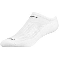 Nike 6 Pack Dri-Fit No-Show Sock - All White / White