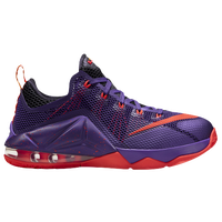 Nike LeBron 12 Low - Boys' Grade School - Purple / Red