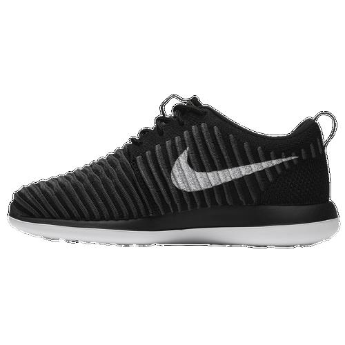 Nike Roshe Run Flyknit Grå Navy