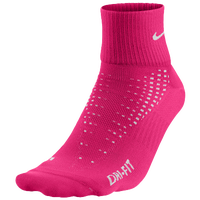 Nike Anti-Blister Lightweight Low Cut Tab Socks - Pink / White